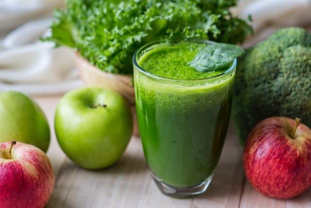 De kracht van groene smoothies