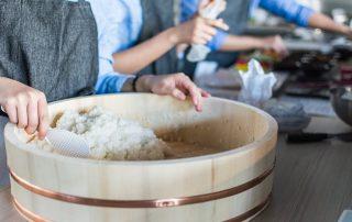 rijst spoelen