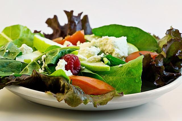 Afvallen met gezonde voeding